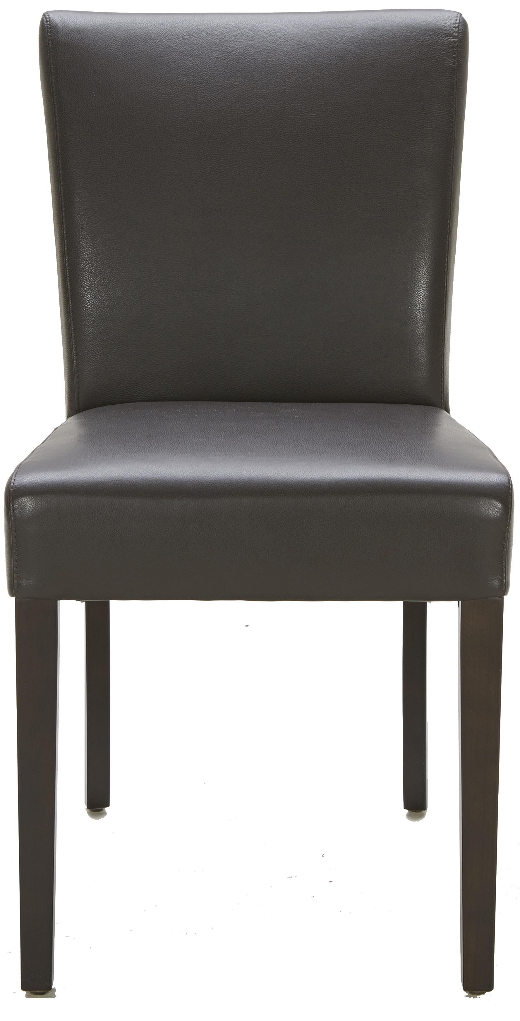 Urban Evolution Urban Dining Chairs Brown Dining Side Chair - Item Number: Y-326-M5510