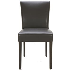 Urban Evolution Urban Dining Chairs Brown Dining Side Chair