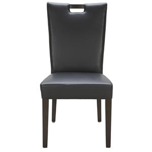 Urban Evolution Urban Dining Chairs Brighton Black Leather Chair