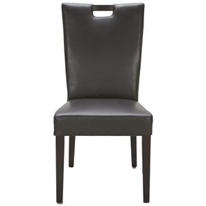 Urban Evolution Urban Dining Chairs Brighton Brown Leather Chair