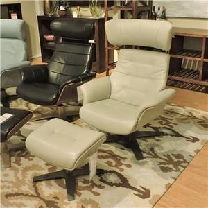 Urban Evolution Karma II Chair and Ottoman