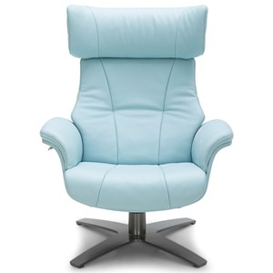 Urban Evolution Karma II Leather Reclining Chair