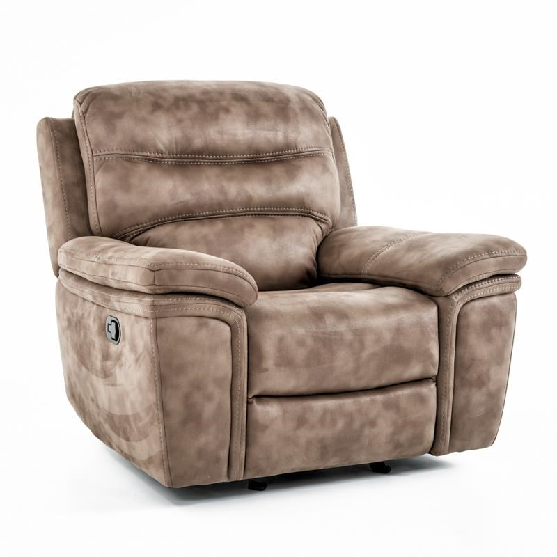 Kuka Home KM008 Glider Recliner - Item Number: KM008-12AGX BROWN