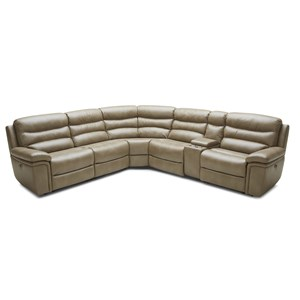 Kuka Home KM008 6 Pc Pwr Reclining Sectional Sofa