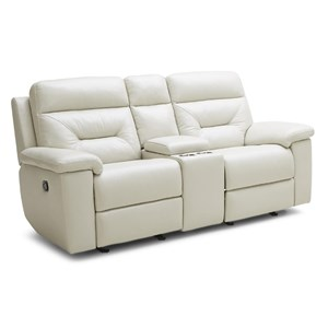 Kuka Home KM012 Gliding Reclining Loveseat w/ Console  sc 1 st  Beck\u0027s Furniture : leather recliner loveseat with console - islam-shia.org