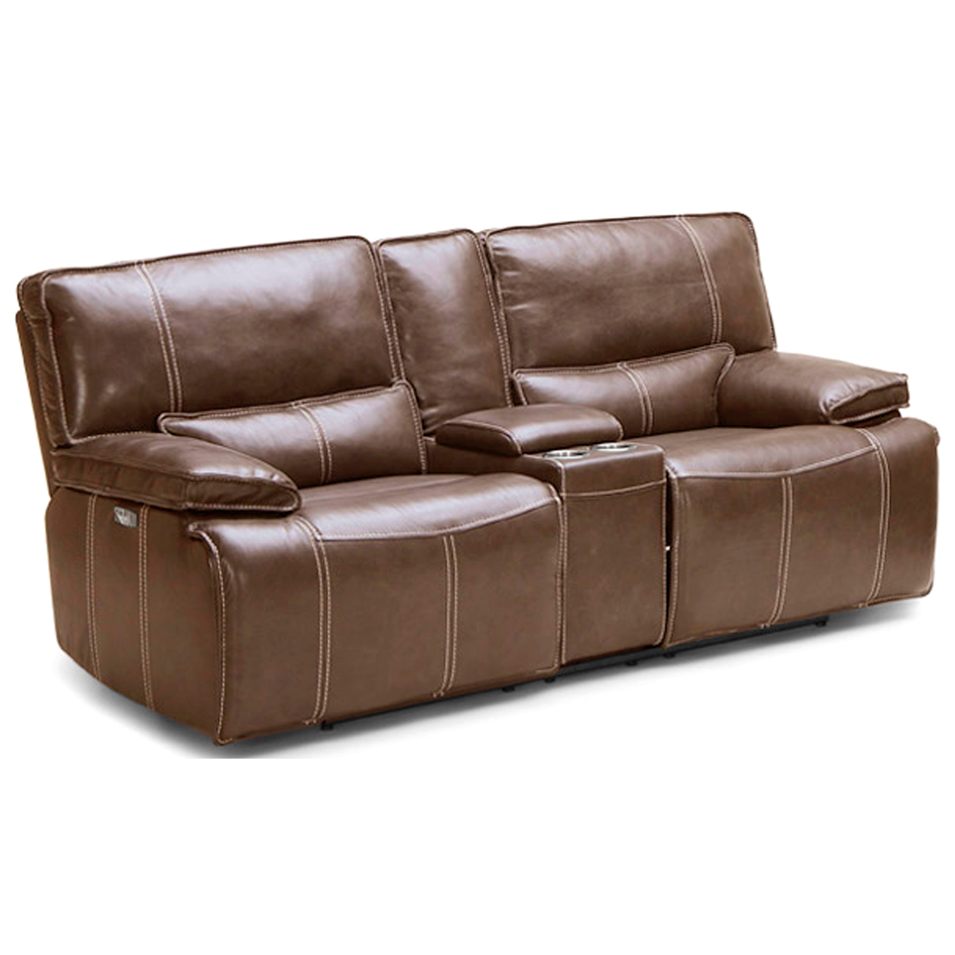 Power Dual Reclining Love w/ Console