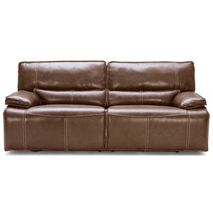 Power Dual Reclining Sofa w/ Pwr Headrest