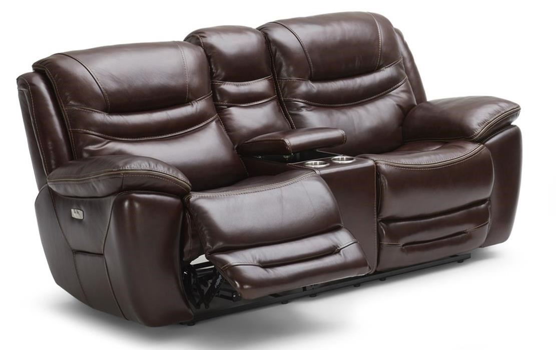Pwr Reclining Loveseat w/ Console