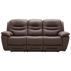Power Reclining Sofa w/ Pwr Head and USB