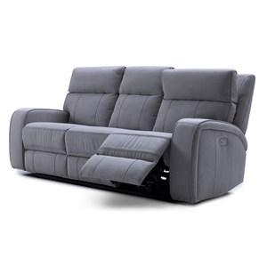 BFW Lifestyle KM132 Power Recline Sofa w/ Pwr Headrest