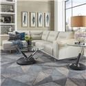 Urban Evolution Darden Contemporary Sectional - Item Number: KT-002CH+S-CU013
