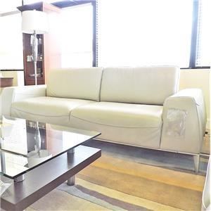 Urban Evolution Mantra Leather Sofa