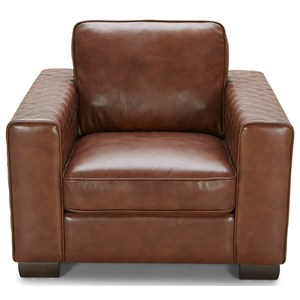 Urban Evolution Mitchell Leather Chair