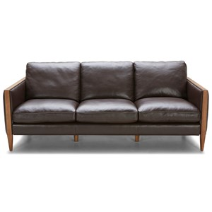 Urban Evolution Murphy Leather Sofa
