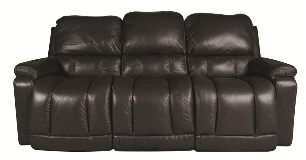 La-Z-Boy Greyson Greyson 100% Leather, Power Reclining Sofa - Item Number: 103112708