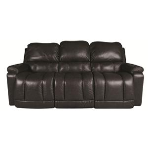 La-Z-Boy Greyson Greyson 100% Leather, Power Reclining Sofa