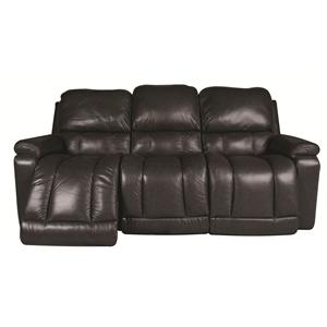 La-Z-Boy Greyson Greyson 100%  Leather Reclining Sofa