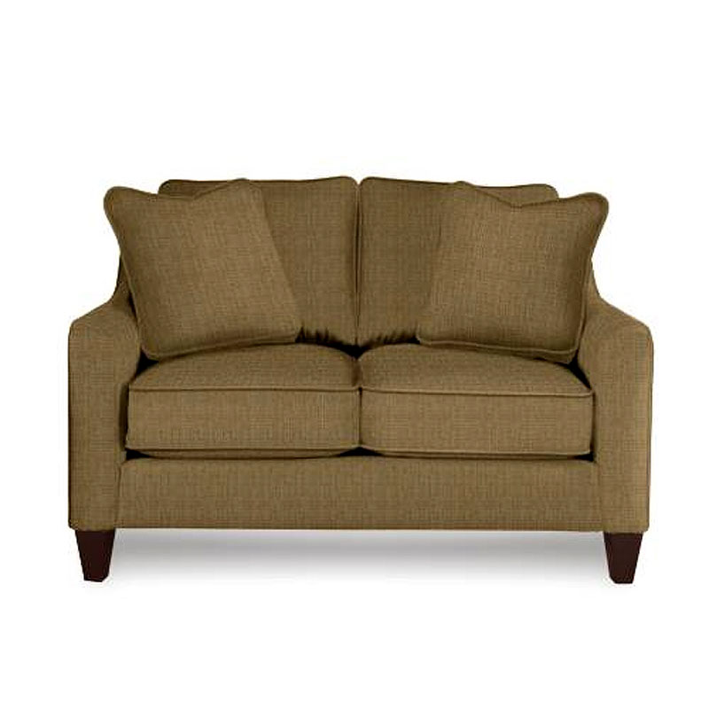 La Z Boy Talbot Casual Stationary Love Seat Moore S Home Furnishings Love Seats