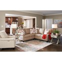 La-Z-Boy Abby Reclining Living Room Group - Item Number: 895 Living Room Group 1