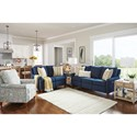 La-Z-Boy Abby Reclining Living Room Group - Item Number: 895 Reclining Living Room Group 2
