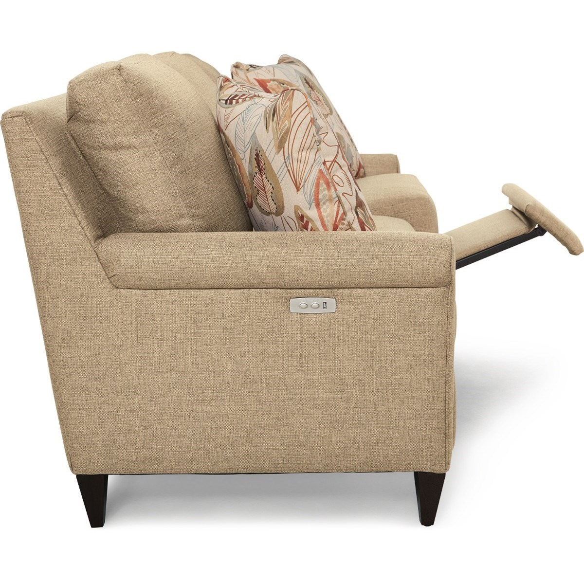 La Z Boy Abby Power Reclining Sofa With Usb Ports Conlin