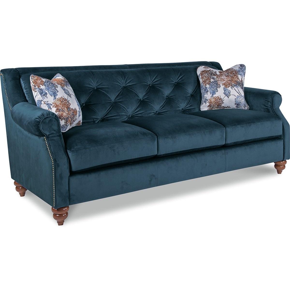 La Z Boy Aberdeen Traditional Sofa With Tufted Seatback