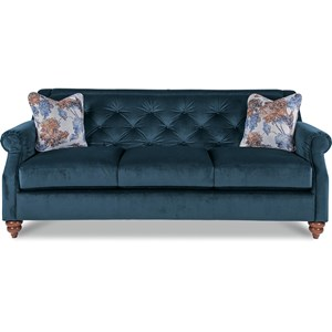 La Z Boy Aberdeen Traditional Sofa With Tufted Seatback | Boulevard Home  Furnishings | Sofa