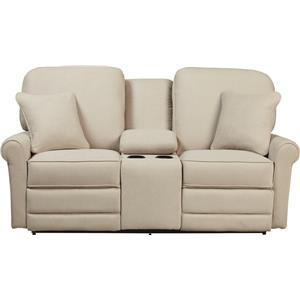 La-Z-Boy Addison La-Z-Time® Full Reclining Loveseat w/Console