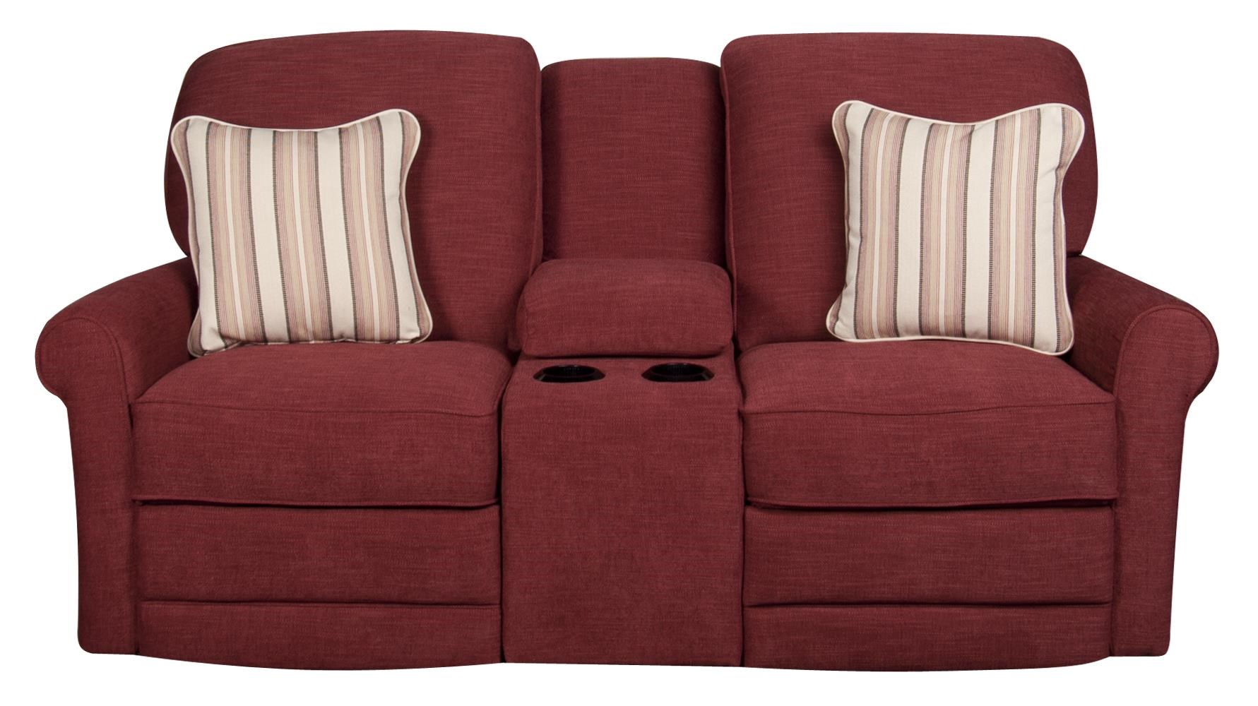 La-Z-Boy Addison Addison Power Loveseat with Console - Item Number: 464143379