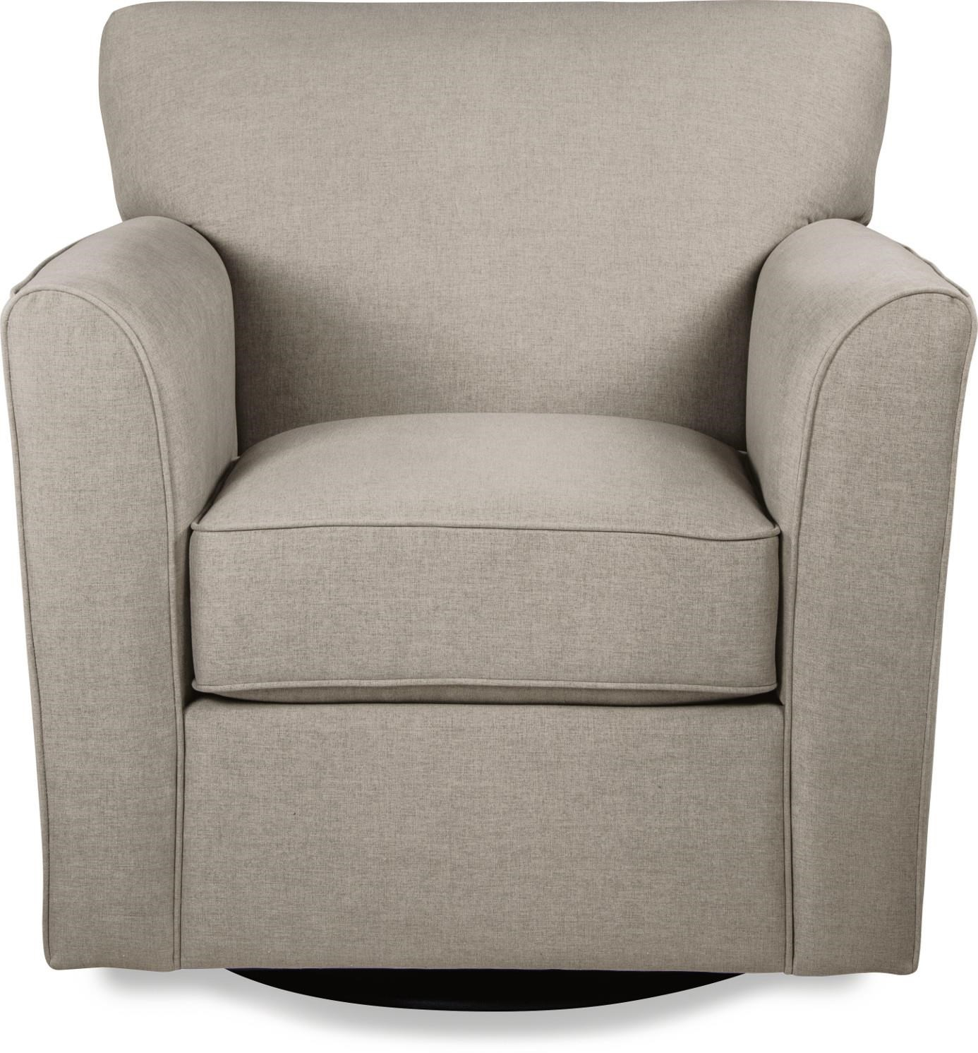 Allegra Swivel Chair by La-Z-Boy at Bennett's Furniture and Mattresses