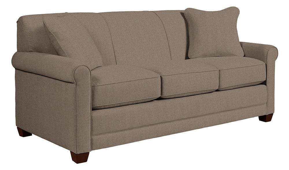 La-Z-Boy Amanda Flannigan Slate Sofa - Item Number: LAZY-610-600 D142654