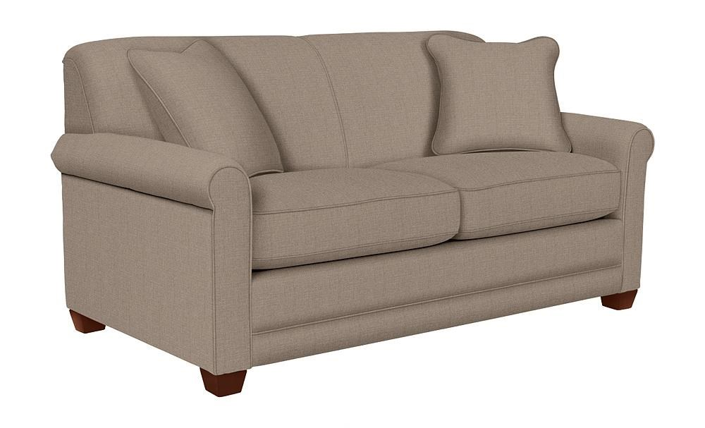 La-Z-Boy Amanda Flannigan Slate Apartment-Size Sofa - Item Number: LAZY-620-600 D142654