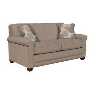 La-Z-Boy Amanda Flannigan Slate Apartment-Size Sofa