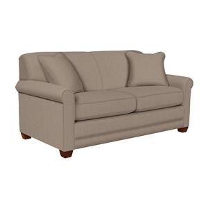 La-Z-Boy Amanda Flannigan Slate Apartment-Size Sofa