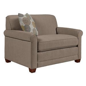 La-Z-Boy Amanda Flannigan Slate Chair & a Half