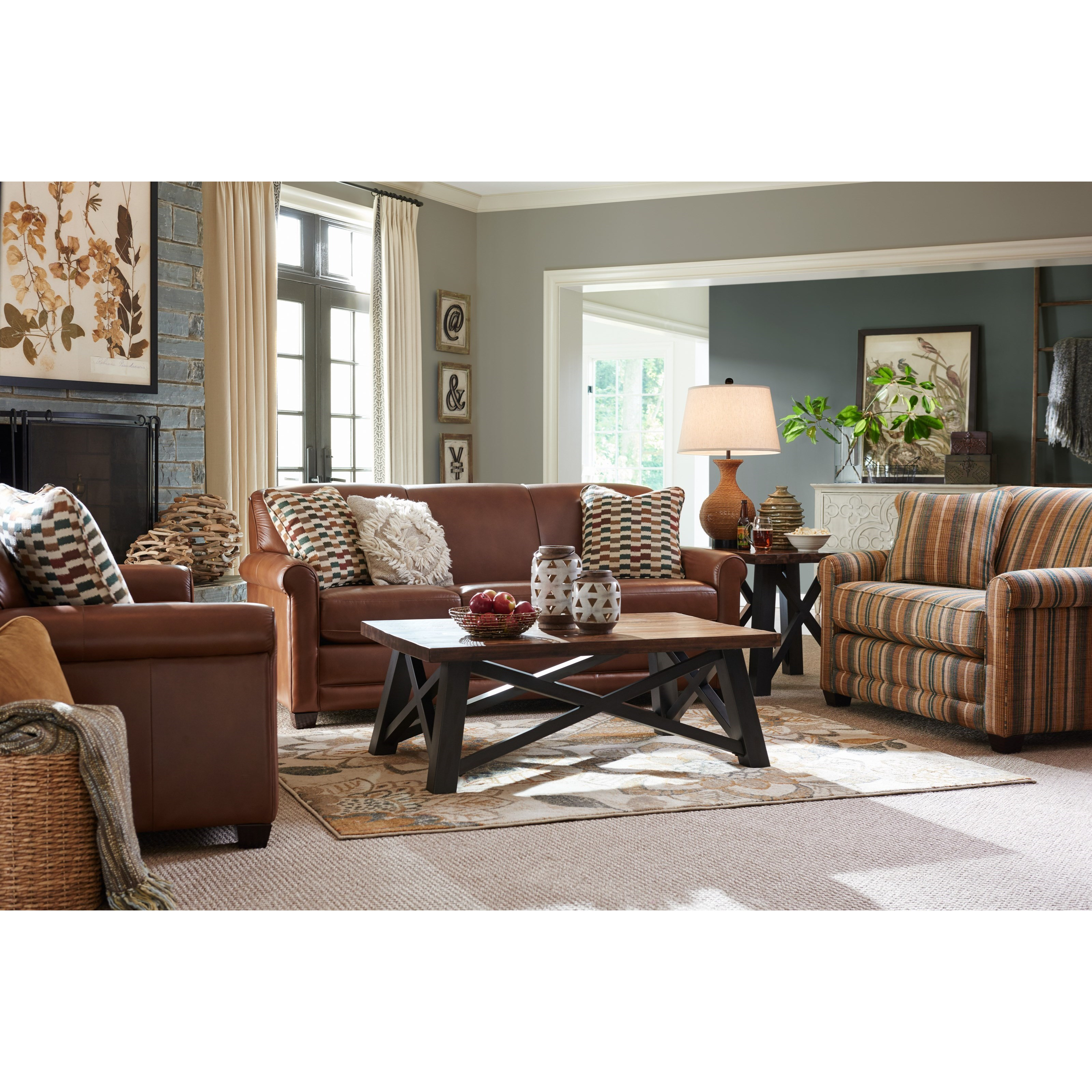 Amanda Living Room Group by La-Z-Boy at Bennett's Furniture and Mattresses