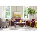 La-Z-Boy Amanda Casual Sleeper Sofa with Premier ComfortCore Seat Cushions and SupremeComfort Mattress