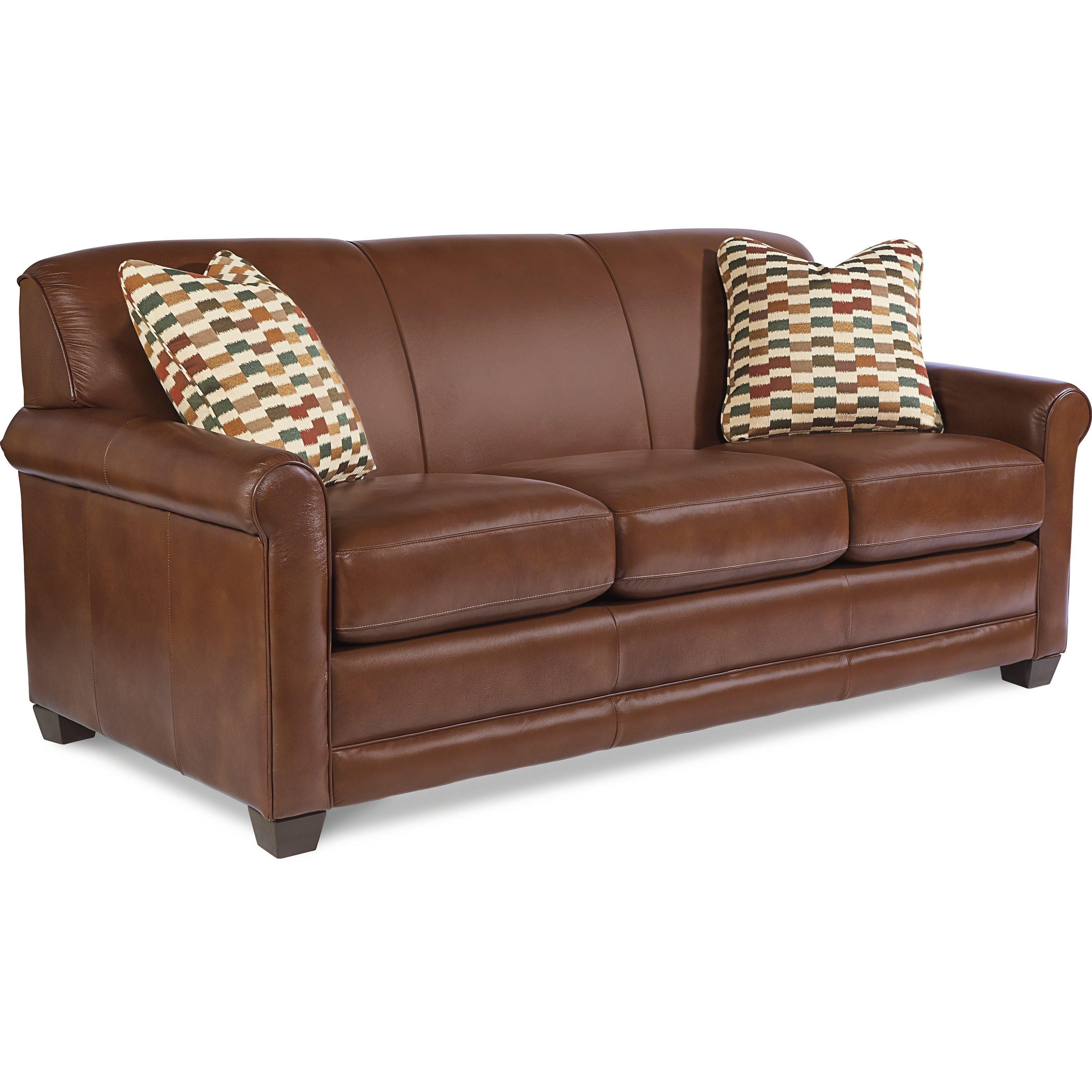 La Z Boy Amanda Casual Sleeper Sofa with Premier ...
