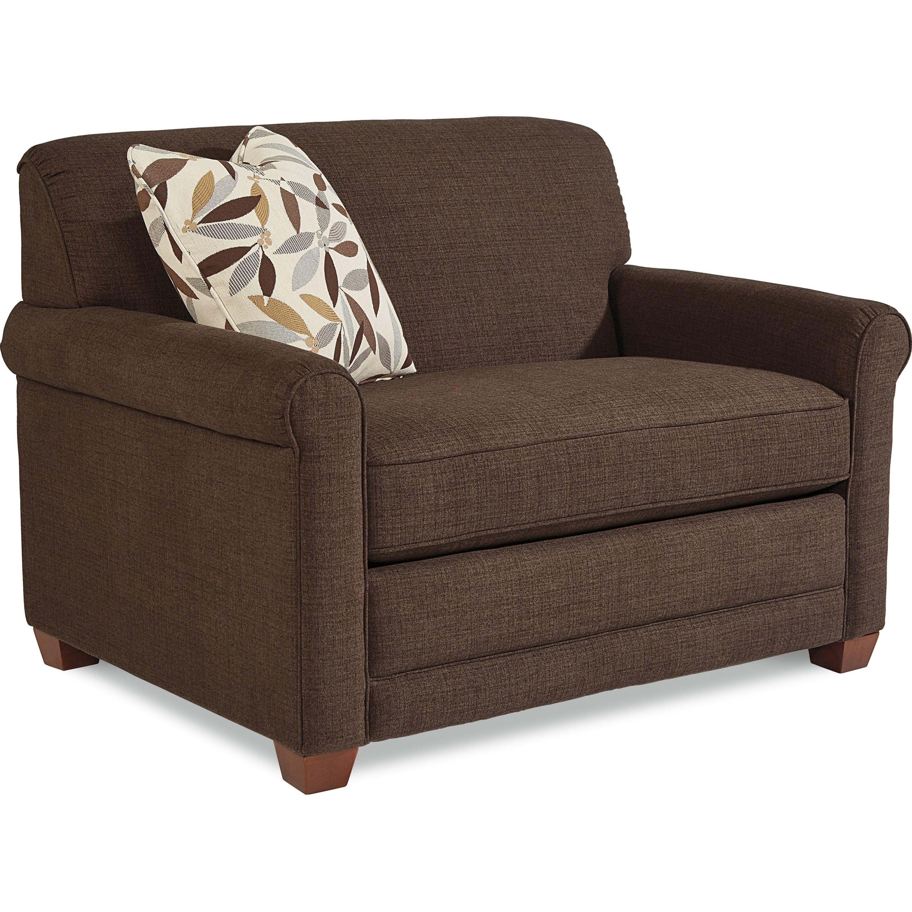 La Z Boy Amanda Casual Twin Mattress Sleeper Chair With