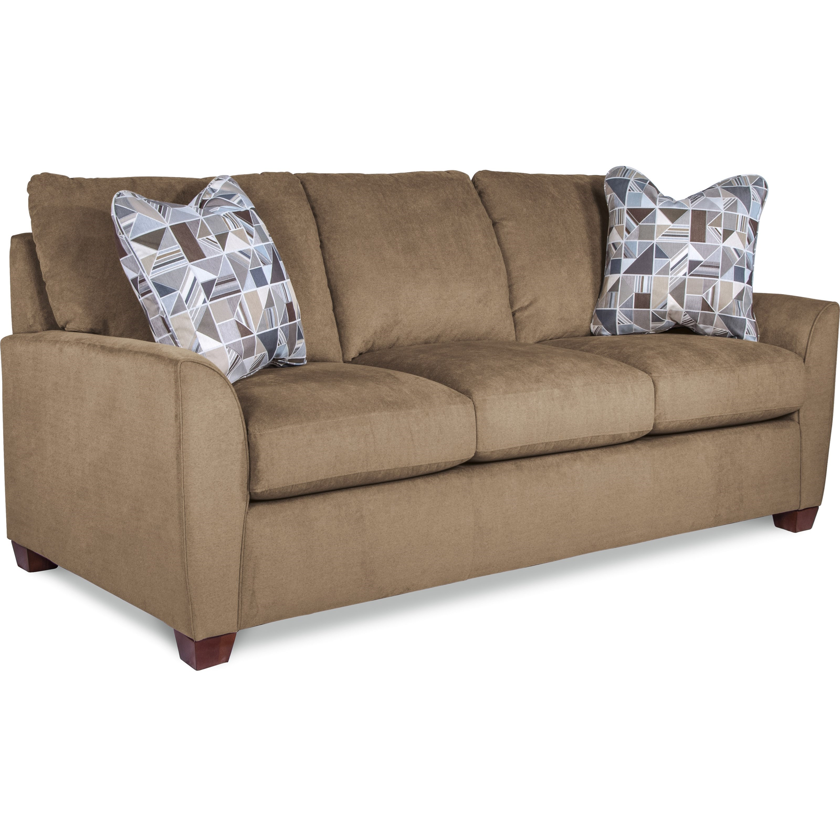 La Z Boy Amy Casual Supreme Comfort Queen Sleeper Sofa