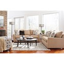 La-Z-Boy Amy Casual Supreme Comfort Queen Sleeper Sofa with Premier ComfortCore Cushions