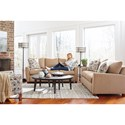 La-Z-Boy Amy Casual Sofa with Premier ComfortCore Cushions
