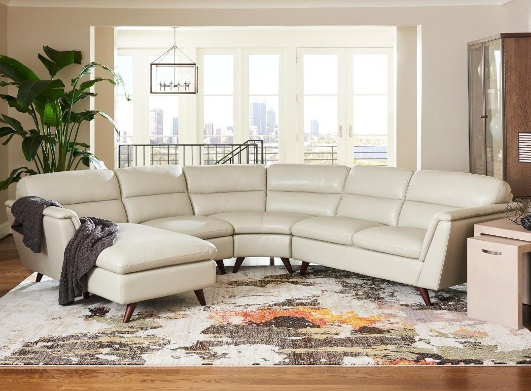 4 Pc Sectional Sofa w/ RAS Chaise