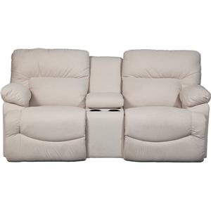La-Z-Boy ASHER La-Z-Time® Full Reclining Loveseat w/Console