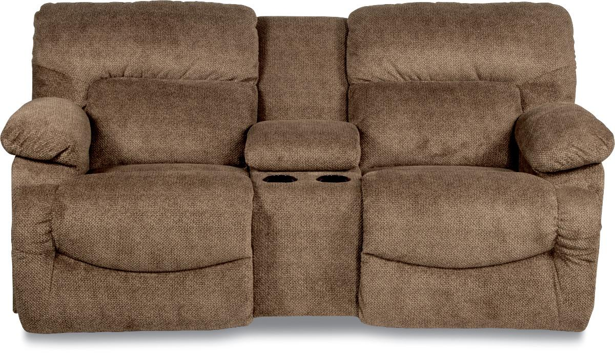 lazboy asher laztime full reclining loveseat w