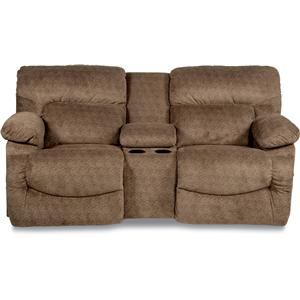 La-Z-Boy ASHER Power La-Z-Time® Reclining Loveseat w/ Cons