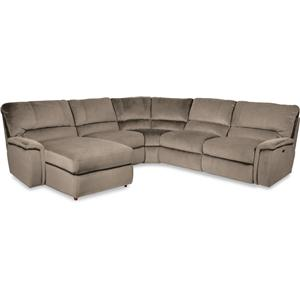 La-Z-Boy ASPEN 5 Pc Power Reclining Sectional w/ RAS Chaise
