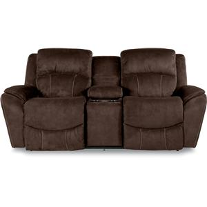 La-Z-Boy BARRETT Power La-Z-Time Reclining Loveseat w/Console