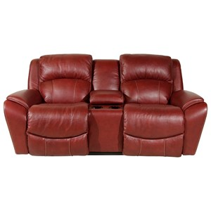La-Z-Boy BARRETT La-Z-Time® Full Reclining Loveseat w/Console