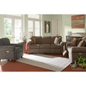 La-Z-Boy Bennett Reclining Living Room Group - Item Number: 899 Living Room Group 1